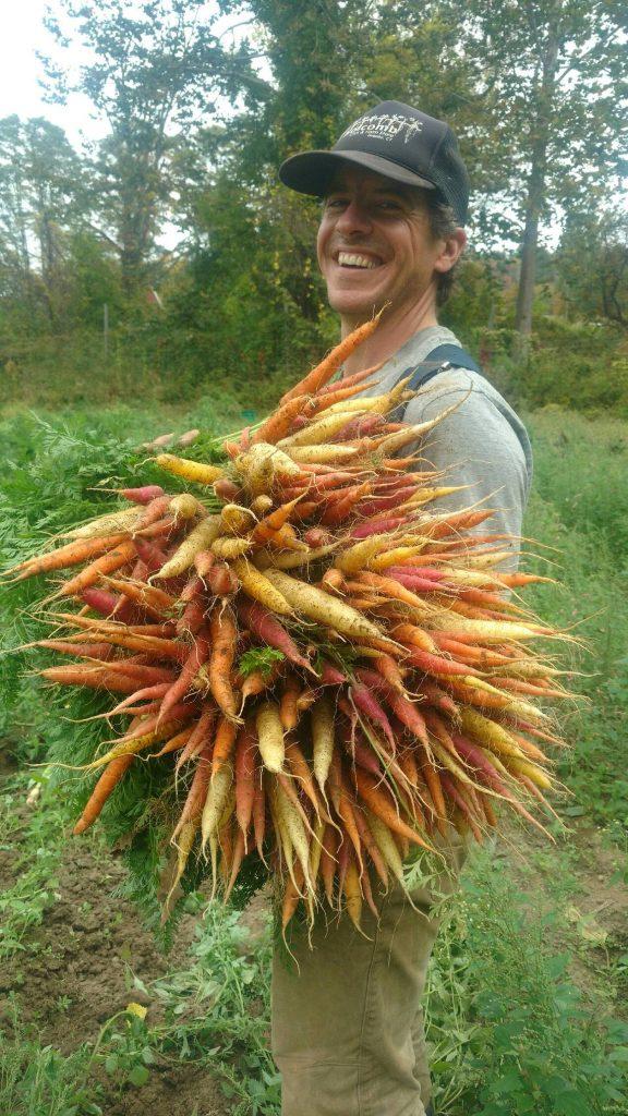 Joe with Carrots